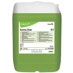Suma Star D1 Hand Dishwashing Liquid 20ltr