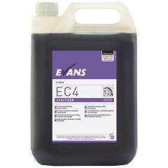 Evans EC4 Sanitiser & Disinfectant 5ltr (2)