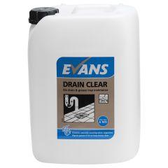 Evans Bio Drain Clear 10ltr