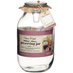Glass Preserving Jar 106oz