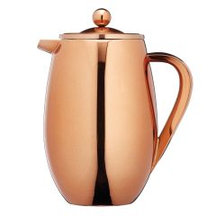 Le Xpress Copper Insulated Cafetiere 1ltr