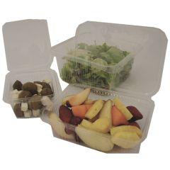London Bio Hinged Salad Box 500ml (100)