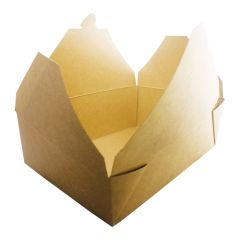 Kraft Take Away Food Container 195x110x65mm (180)