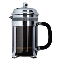 Chrome Cafetiere 3 Cup