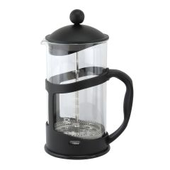 Matt Black Cafetiere 6 Cup 1 Litre