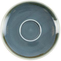 "Olympia Kiln Ocean Cappuccino Saucer 6.5"" (6)"