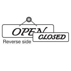 Open/Closed Door Sign.