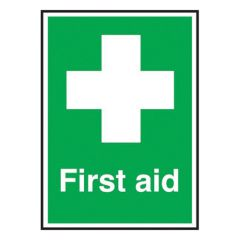 First Aid Sign.