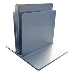 Aluminium Triple Channel Menu Holder