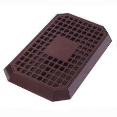 Brown Plastic Bar Drip Tray