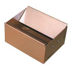 Bronze Floor Ash Tray Bin