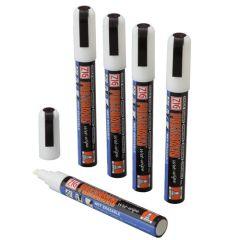 White Wet Wipe Chalkboard Pens (5)