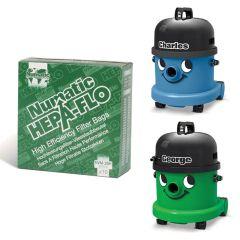 Numatic HepaFlo Bags 15ltr