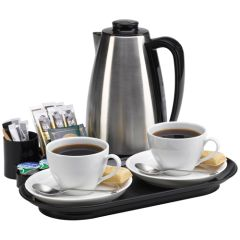 Valette Black Welcome Tray & Hotel Kettle 0.9ltr