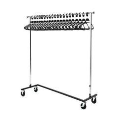 Bolero Braked Garment Rail & 20 Hangers