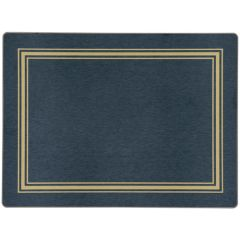 Traditional Blue Cork Melamine Placemat