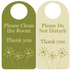 Dandelion Do Not Disturb Door Hangers (10)