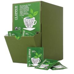 Fairtrade Organic Green Enveloped Teabags (250)