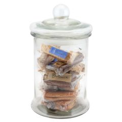 Large Glass Biscotti Jar 4.8ltr