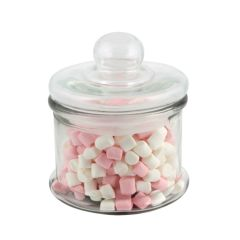Small Glass Biscotti Jar 600ml