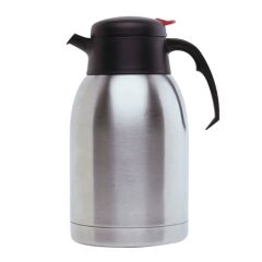 Push Button Stainless Steel Vacuum Jug 2ltr