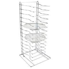Stainless Steel Pizza Rack 15 Shelf