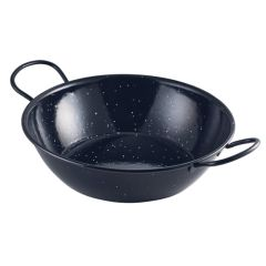 Black Enamel Dish 26cm