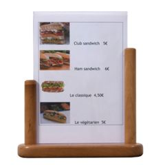 Teak PVC Insert Table Board A4