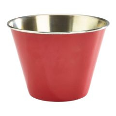 Red Stainless Steel Ramekin 12oz