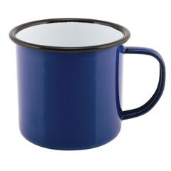Blue Enamel Mug 12.5oz.