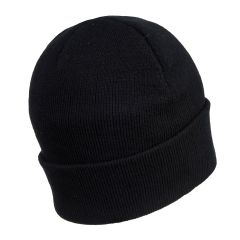 Portwest LED Black Beanie Hat