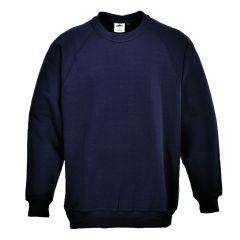 Portwest Roma Black Sweatshirt Size XL