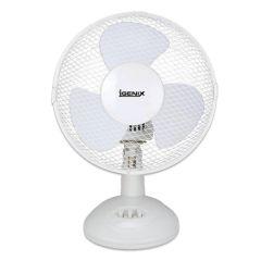 "Oscillating Desk Fan, 9""."