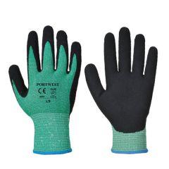 Portwest A645 Green Cut 5 Special Hazard Gloves (L)