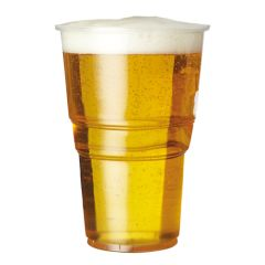 Premium Disposable Pint Glasses 20oz CE To Brim