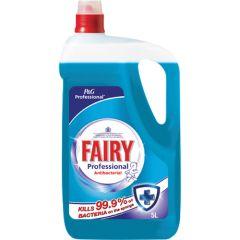 Fairy Washing Up Liquid Antibacterial 5ltr