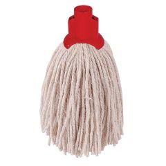 Red PY Yarn Socket Mop No 12 182g