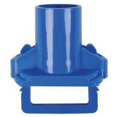 Blue Socket & Clip For Eco Mop Refill