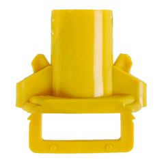 Yellow Socket & Clip For Eco Mop Refill