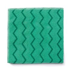 Jangro HYGEN Green Microfiber General Purpose Cloth