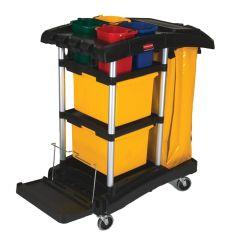 Rubbermaid Hygen Office/Retail Cleaning Trolley