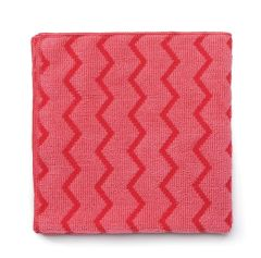 Jangro HYGEN Red Microfiber Multi Purpose Cloth
