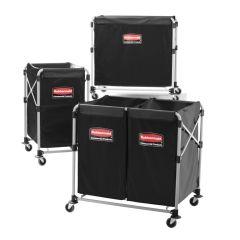 Rubbermaid X-Cart Black Bag 150ltr