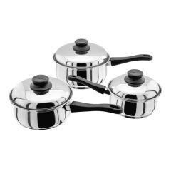 Judge Essentials Stainless Steel 3 Piece Pan Set