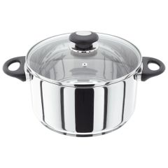 Judge Stainless Steel Casserole Pan 24cm