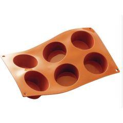 Silicone 6 Muffin Mould
