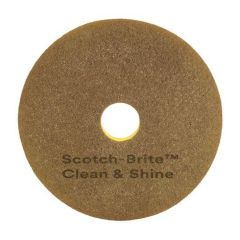 "Scotch-Brite Clean & Shine Pad 15""  5 per case"