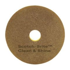 "Scotch-Brite Clean & Shine Pad 16"" 5 per case"