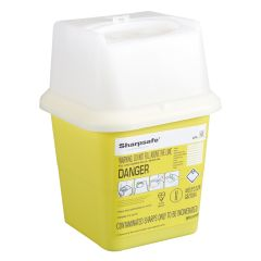 Sharps Needle & Syringe Disposal Bin 4ltr