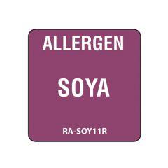 """Soya Square Food Allergen Label 1"""""""